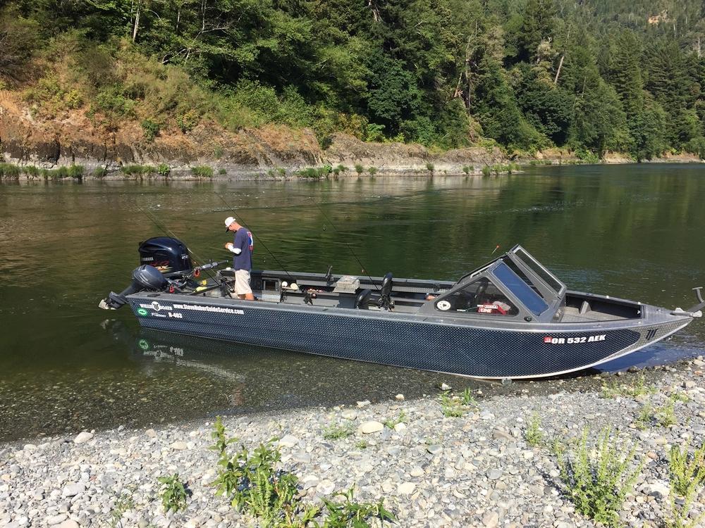 crescent city river fishing boat